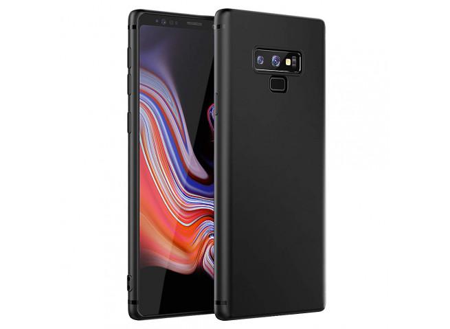 Coque Samsung Galaxy Note 9 Black Matte Flex