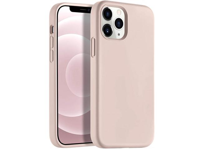 Coque iPhone 12 Mini Silicone Gel-Rose Des Sables