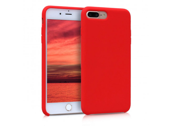 Coque iPhone 7 Plus / iPhone 8 Plus Red Matte Flex
