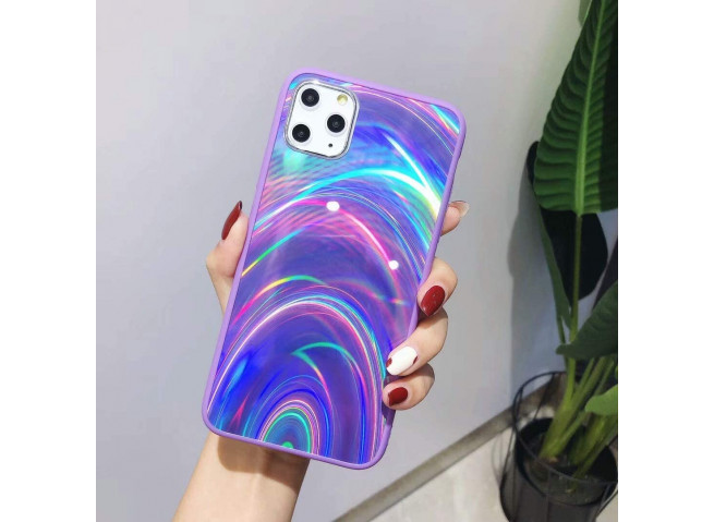 Coque iPhone 11 Laser Protect-Violet