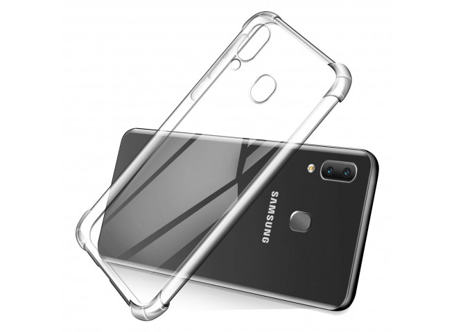 Coque Samsung Galaxy A20e Clear Shock