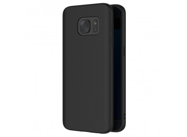 Coque Samsung Galaxy S7 Black Matte Flex