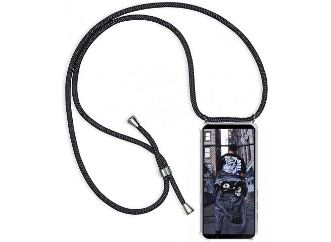 Coque Samsung Galaxy S20 Plus Necklace Clear Shock + 1 tour de cou offert