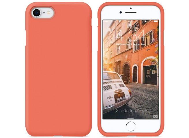 Coque iPhone 7 / iPhone 8/SE 2020 Coral Matte Flex
