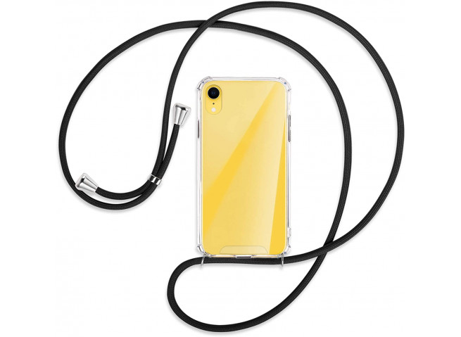 Coque iPhone XR Necklace Clear Shock + 1 tour de cou offert