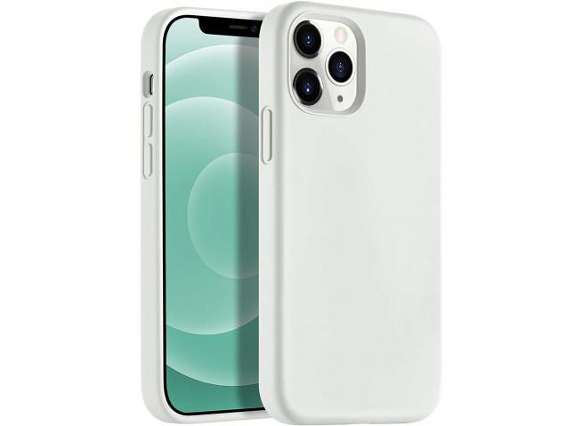Coque iPhone 12 Mini Silicone Gel-Beige