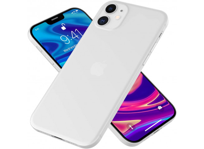 Coque iPhone 12 Pro Ultra Thin 0.35mm-White