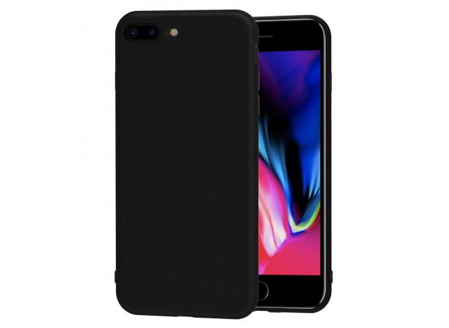 Coque iPhone 7Plus /8 Plus Silicone-Noir