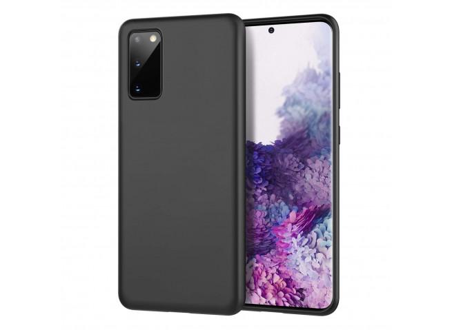 Coque Samsung Galaxy S20 Black Matte Flex