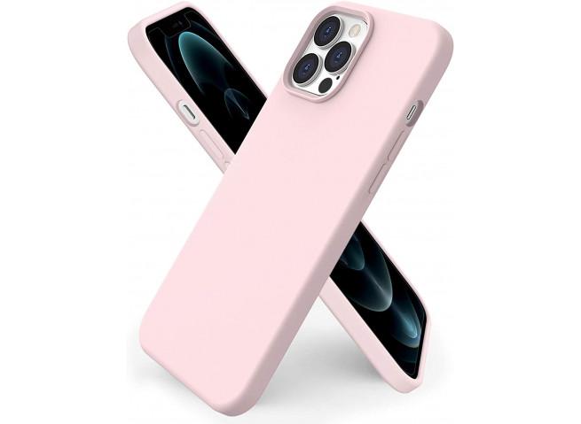 Coque iPhone 12 Pro Max Pink Matte Flex