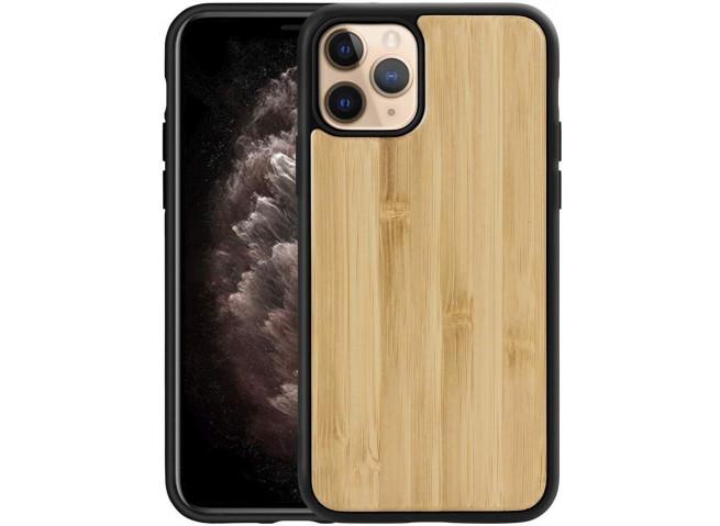 Coque iPhone 11 Bois-Bambou