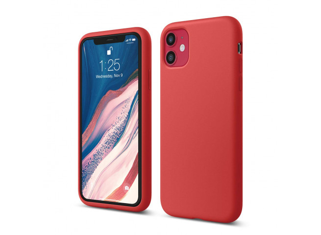 Coque iPhone 11 Pro Red Matte Flex