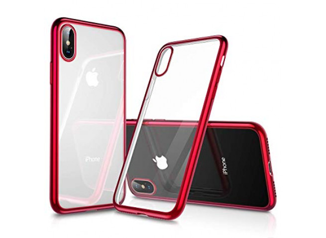 Coque iPhone XS Max Red Flex