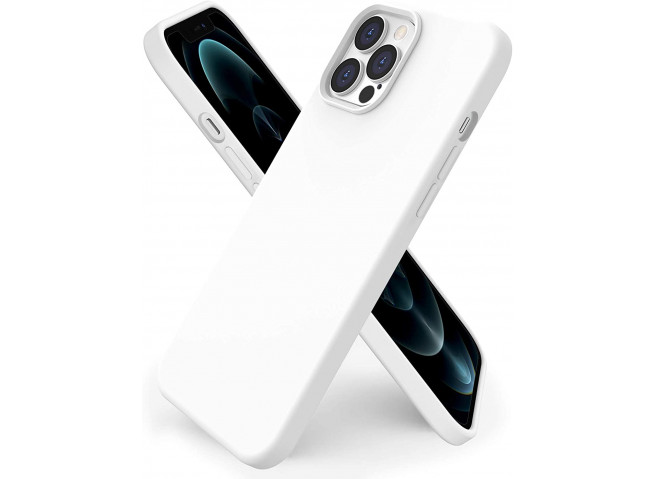 Coque iPhone 12/12 Pro White Matte Flex