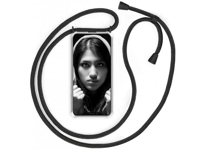 Coque iPhone 11 Pro Necklace Clear Shock + 1 tour de cou offert