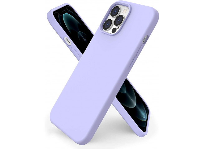 Coque iPhone 12 Pro Max Lila Matte Flex