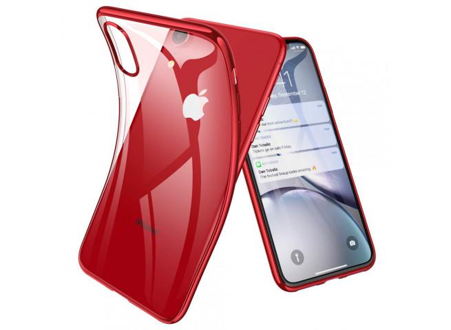 Coque iPhone XR Red Flex