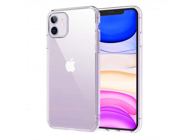 Coque iPhone 11 No Shock Defense-Clear