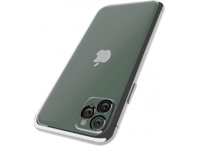 Coque iPhone 11 Silver Flex