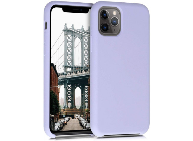 Coque iPhone 11 Silicone Gel-Lila