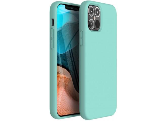 Coque iPhone 12/12 Pro Mint Green Matte Flex