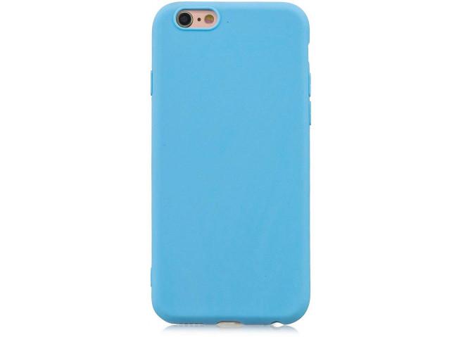 Coque iPhone 6/6S Sky Blue Matte Flex