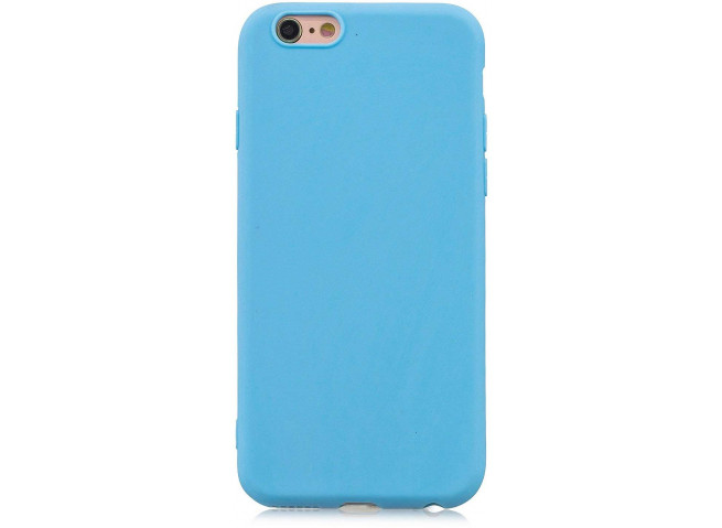 Coque iPhone 5/5S/SE Sky Blue Matte Flex