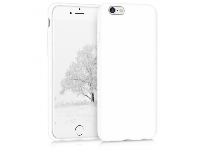 Coque iPhone 6/6S White Matte Flex