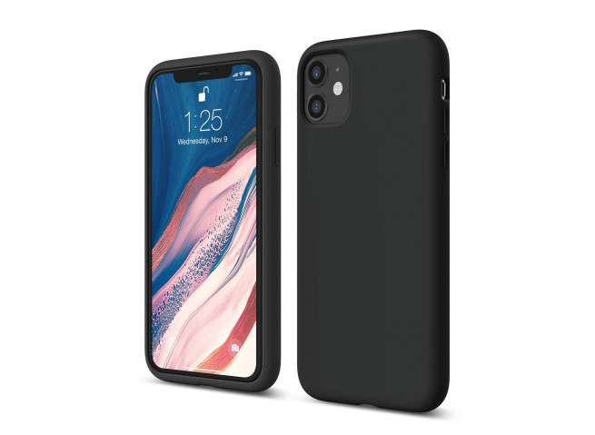 Coque iPhone 11 Pro Black Matte Flex