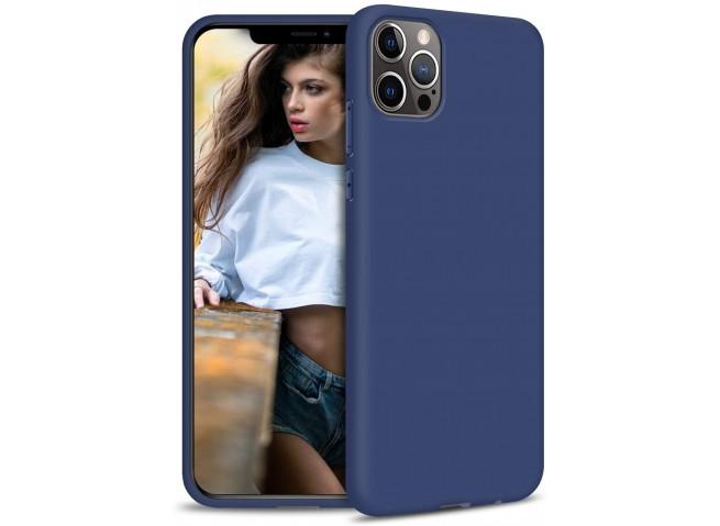 Coque iPhone 12 Mini Blue Navy Matte Flex