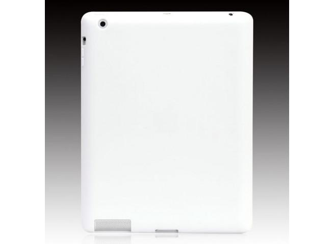 Coque ipad 2 silicone Blanc cassé