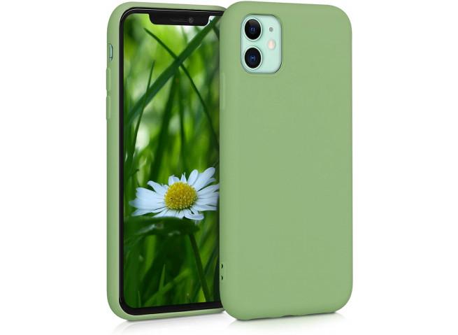 Coque iPhone 11 Pro Matcha Green Matte Flex