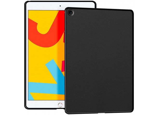 Coque iPad 2018/2017/Pro 9.7/Air 2/Air 1 Black Matte Flex