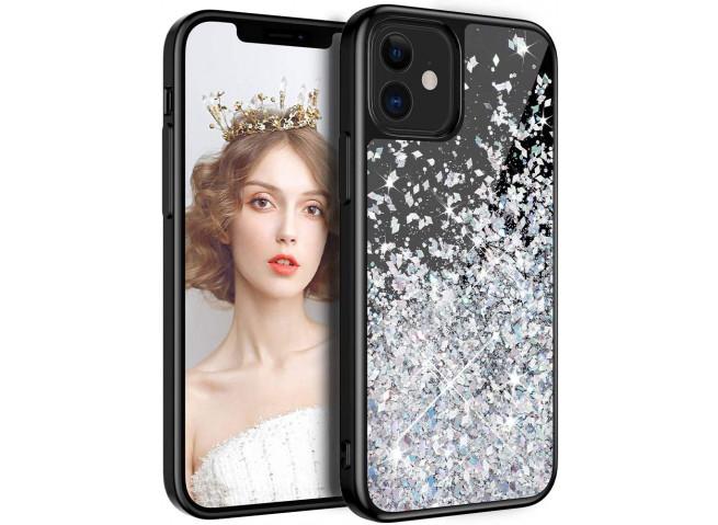 Coque iPhone 7/8/SE 2020 Liquid-Black
