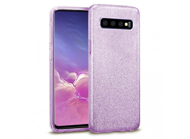 Coque Samsung Galaxy S10 Glitter Protect-Violet