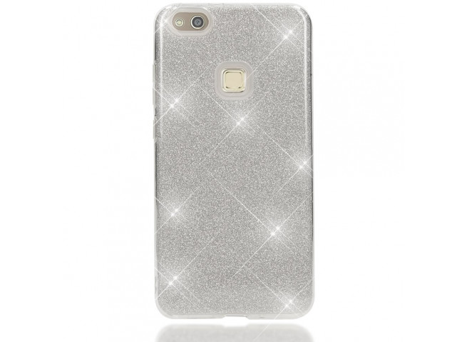 Coque Huawei P10 Lite Glitter Protect-Argent