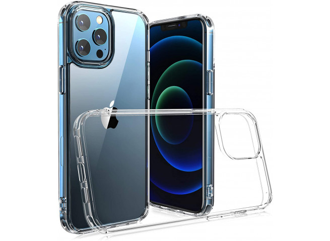 Coque iPhone 12 Pro Max No Shock Defense-Clear