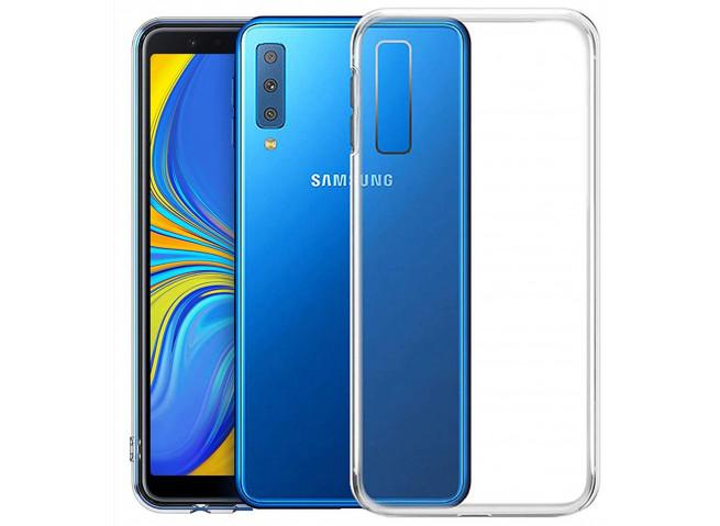 Coque Samsung Galaxy A7 2018 Clear Flex V2