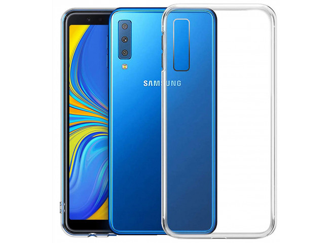 Coque Samsung Galaxy A7 2018 Clear Hybrid