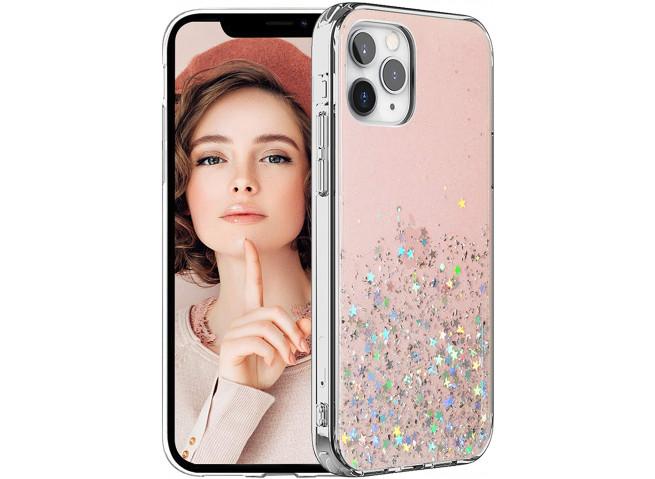 Coque iPhone 12 Pro Max Liquid-Pink