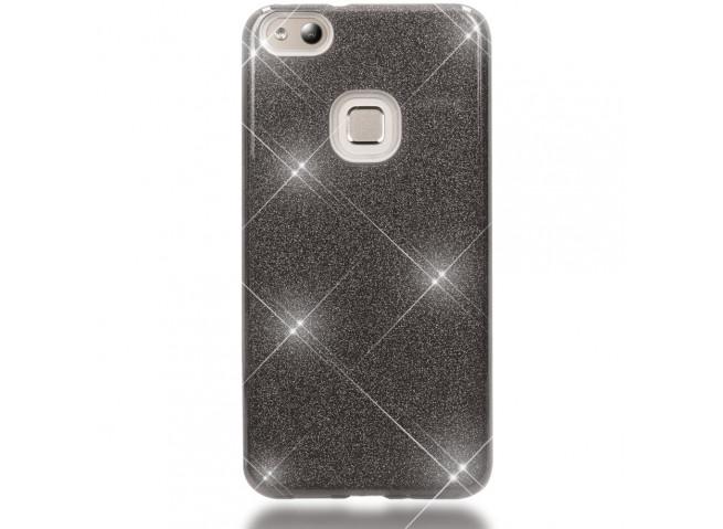 Coque Huawei P10 Lite Glitter Protect-Noir