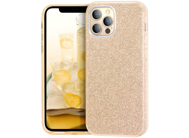 Coque iPhone 12/12 Pro Glitter Protect-Or