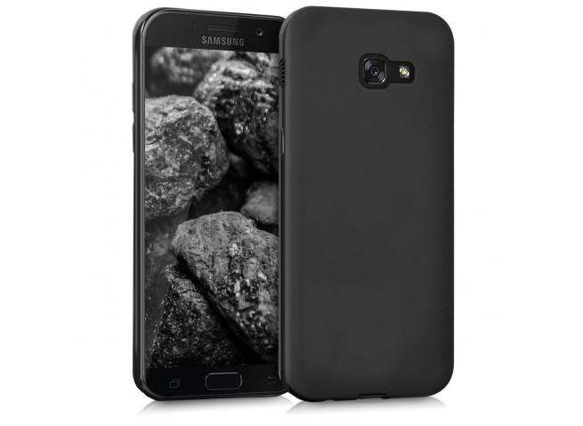 Coque Samsung Galaxy A5 2017 Black Matte Flex