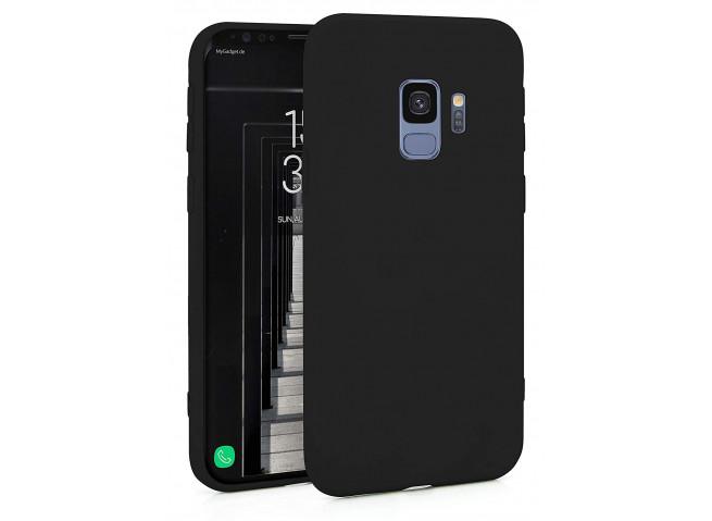 Coque Samsung Galaxy S9 Black Matte Flex