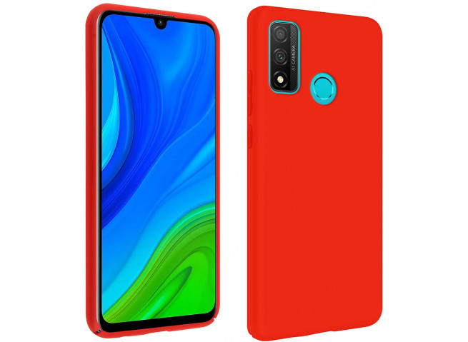 Coque Huawei P Smart 2020 Red Matte Flex