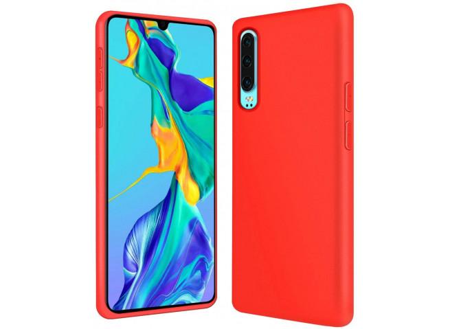 Coque Huawei P30 Red Matte Flex