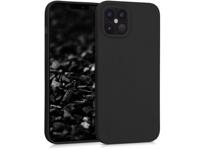 Coque iPhone 12 Mini Black Matte Flex