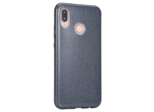 Coque Huawei P20 Lite Glitter Protect-Noir