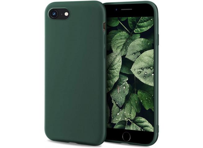 Coque iPhone 7 / iPhone 8/SE 2020 Green Matte Flex