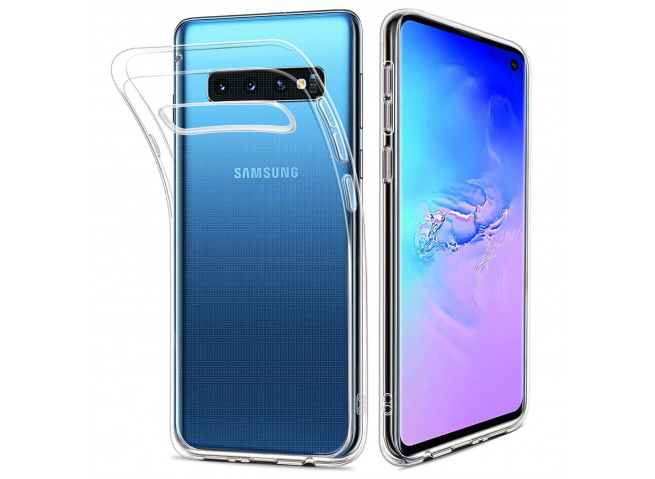 Coque Samsung Galaxy S10+ Clear Hybrid